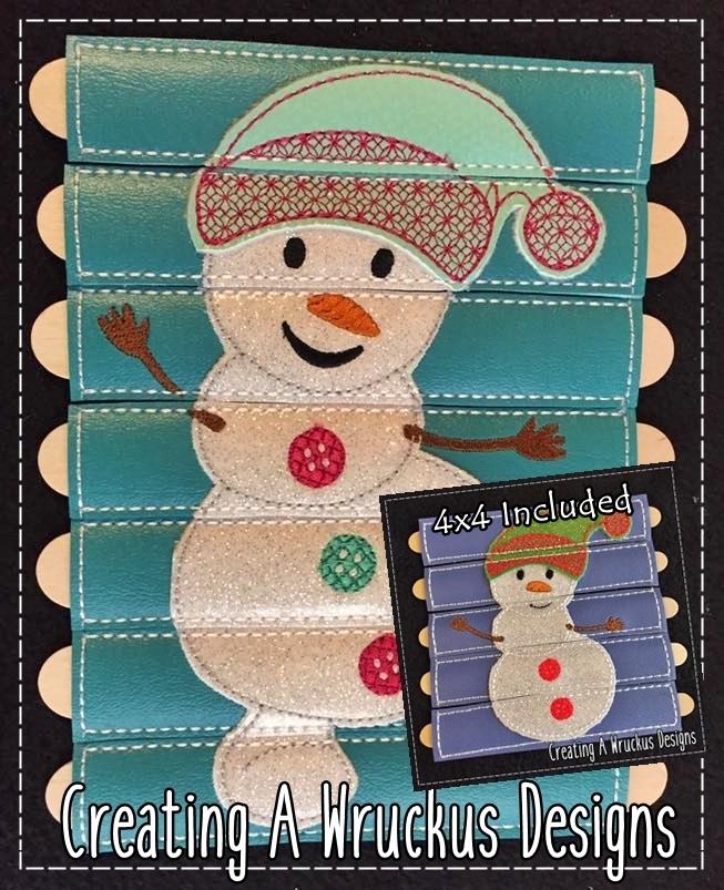 Snowman Stick Puzzle