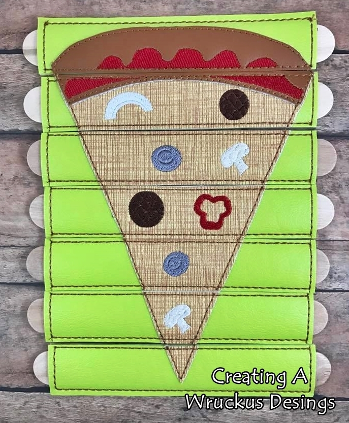 Pizza Stick Puzzle
