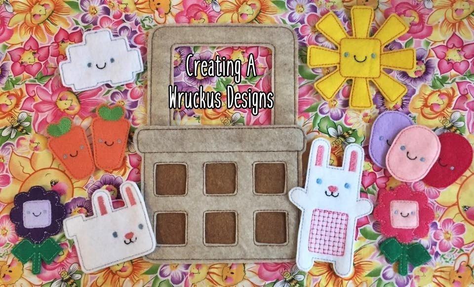 """""""Digital"""" Easter Basket Set"""