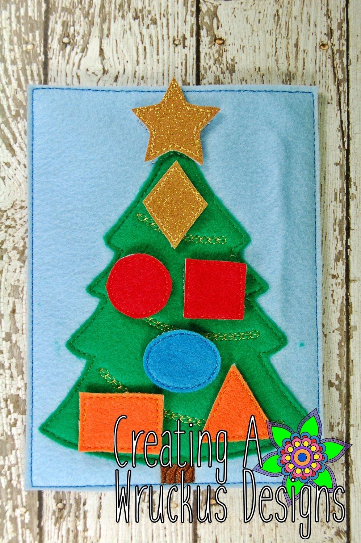 Christmas Tree Shape Match
