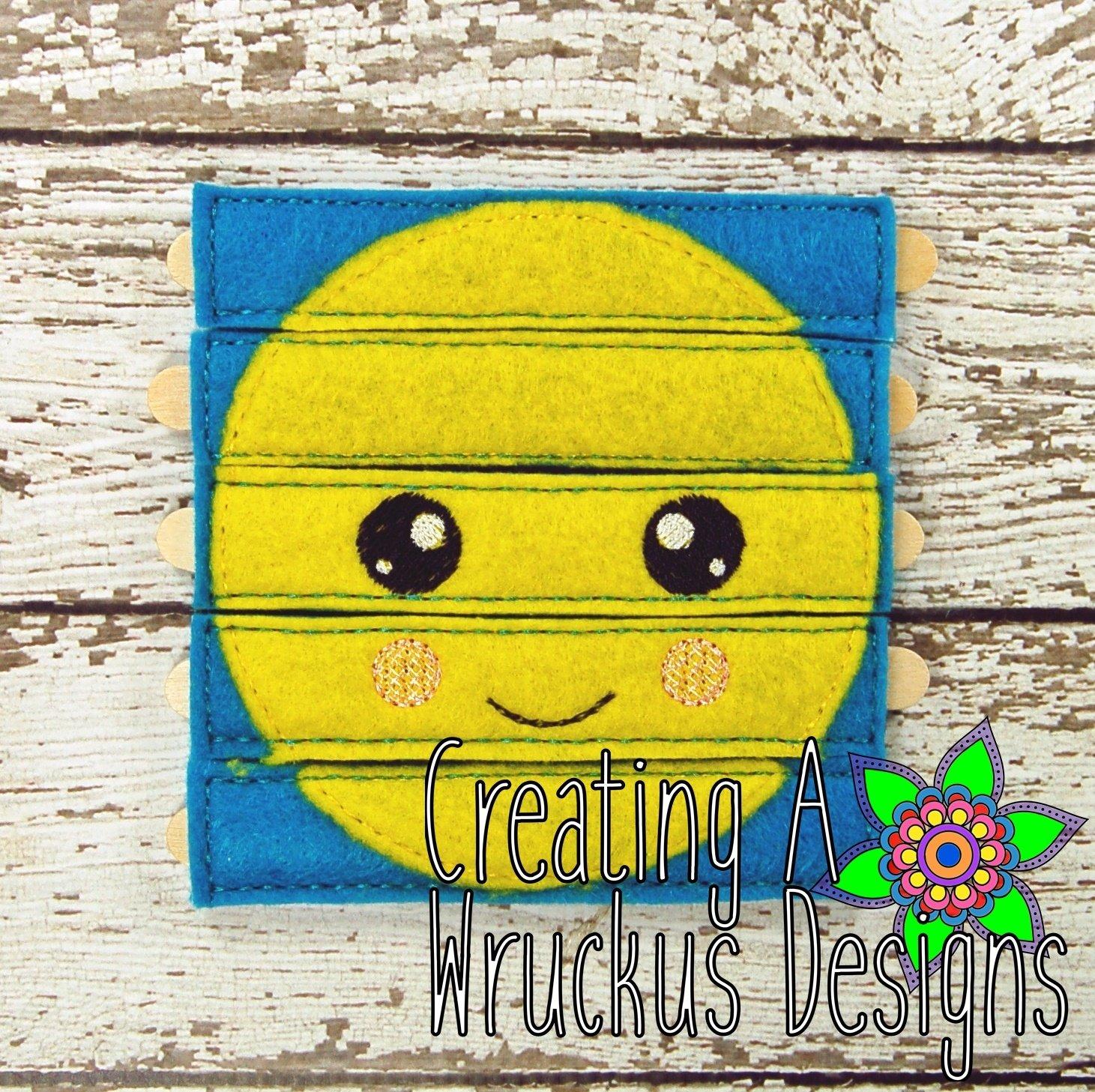 Happy Emoji Stick Puzzle 4x4