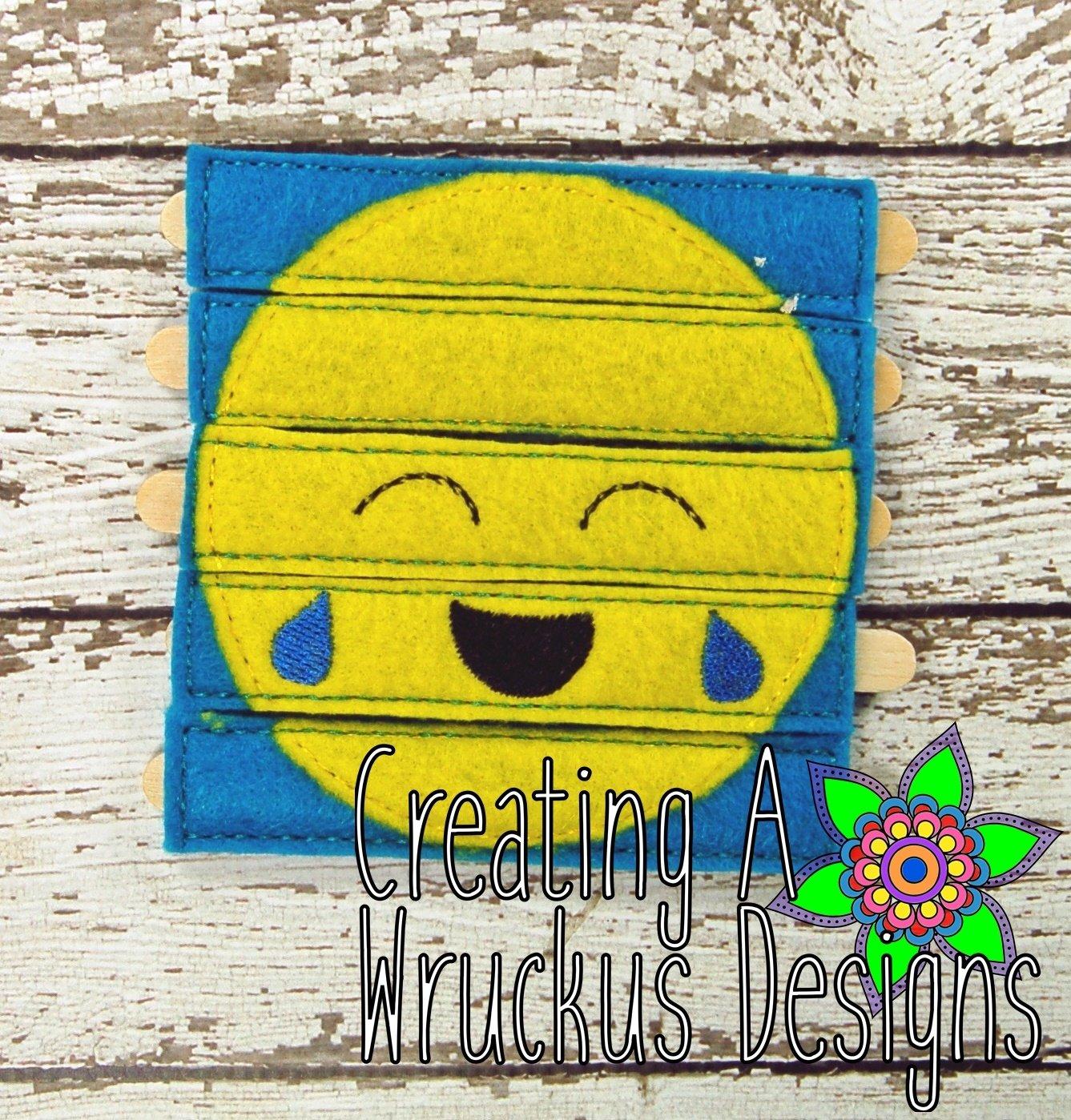 Laughing Emoji Stick Puzzle 4x4