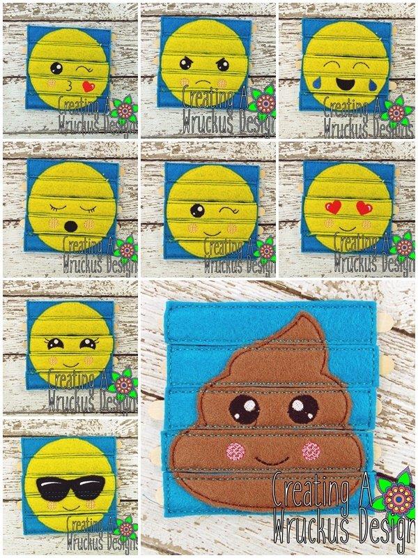 Emoji Stick Puzzle Set