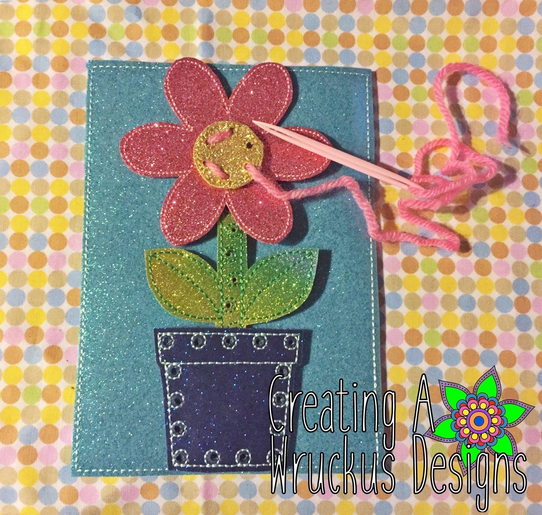 Flower I Can Sew Set