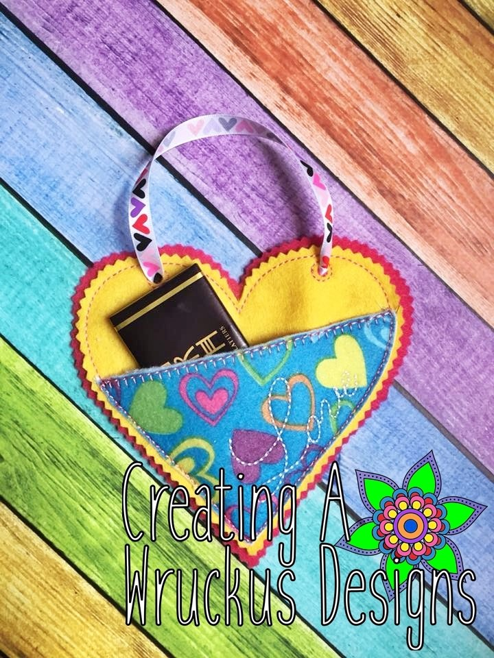 Love Heart Pouch & Sign