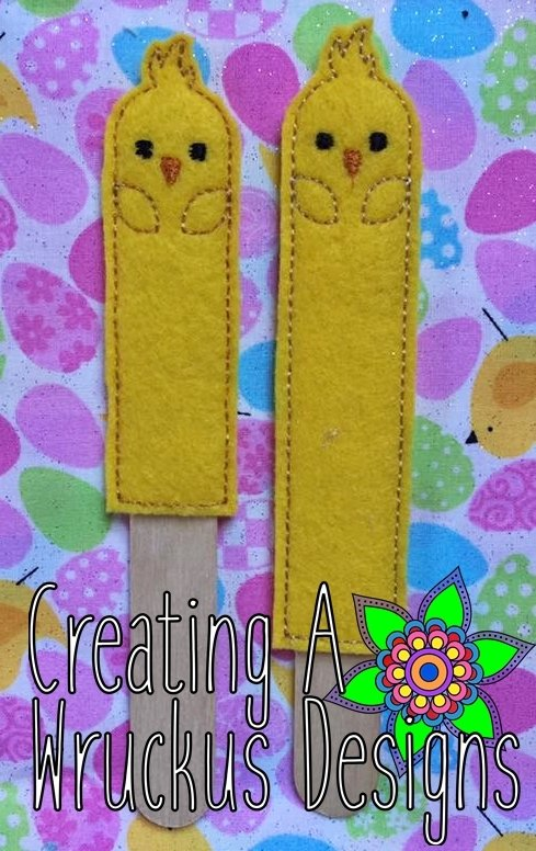 Chick Stick Bookmark