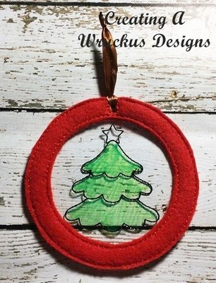 Tree Color Catcher Ornament