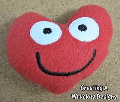 Smiling Stuffed Heart