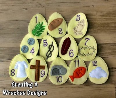 Resurrection Easter Egg Set