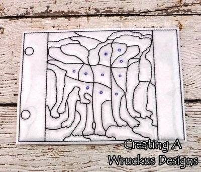 Dog Coloring Puzzle
