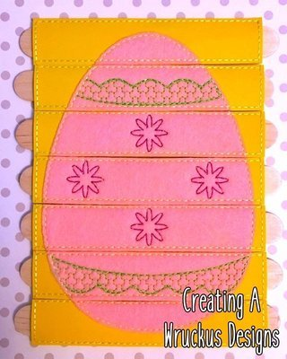 Egg Flower Stick Puzzle