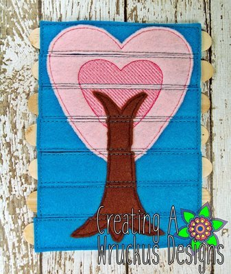 Heart Tree Stick Puzzle