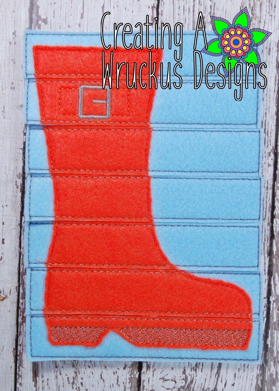 Rain Boot Stick Puzzle