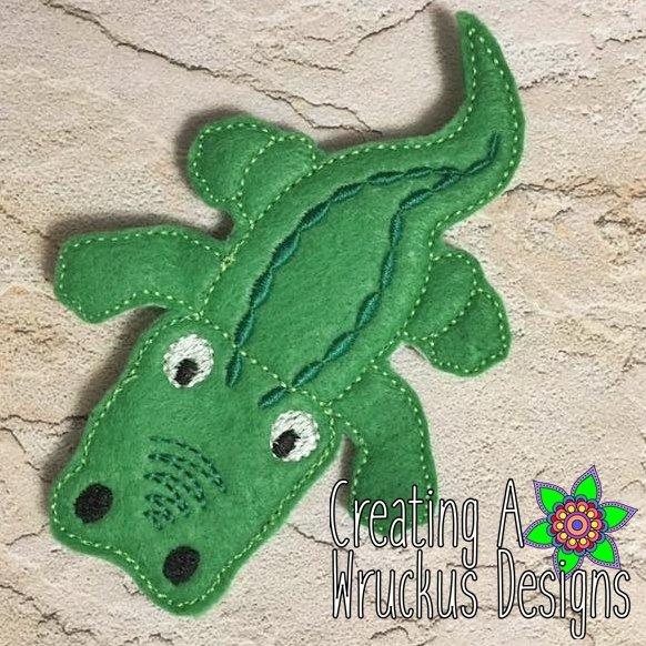 Alligator Finger Friend