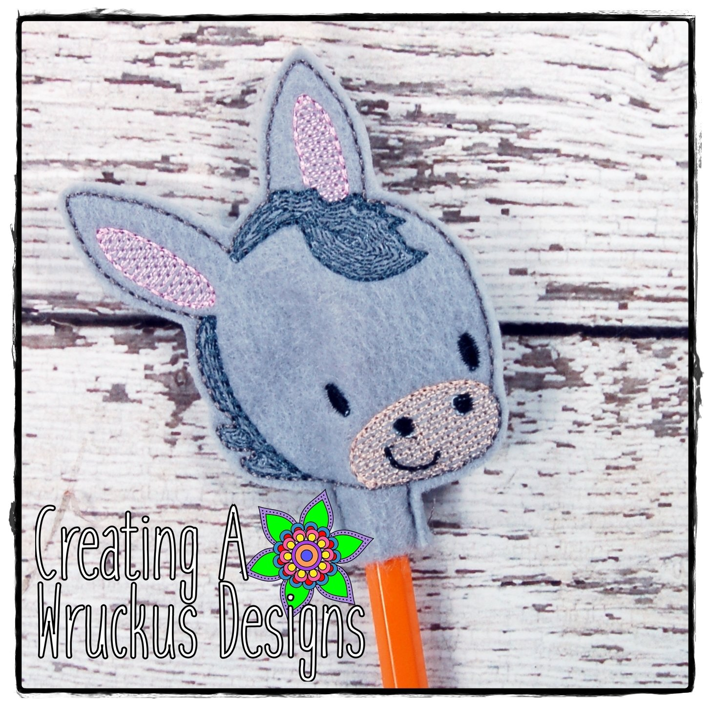Donkey Pencil Topper