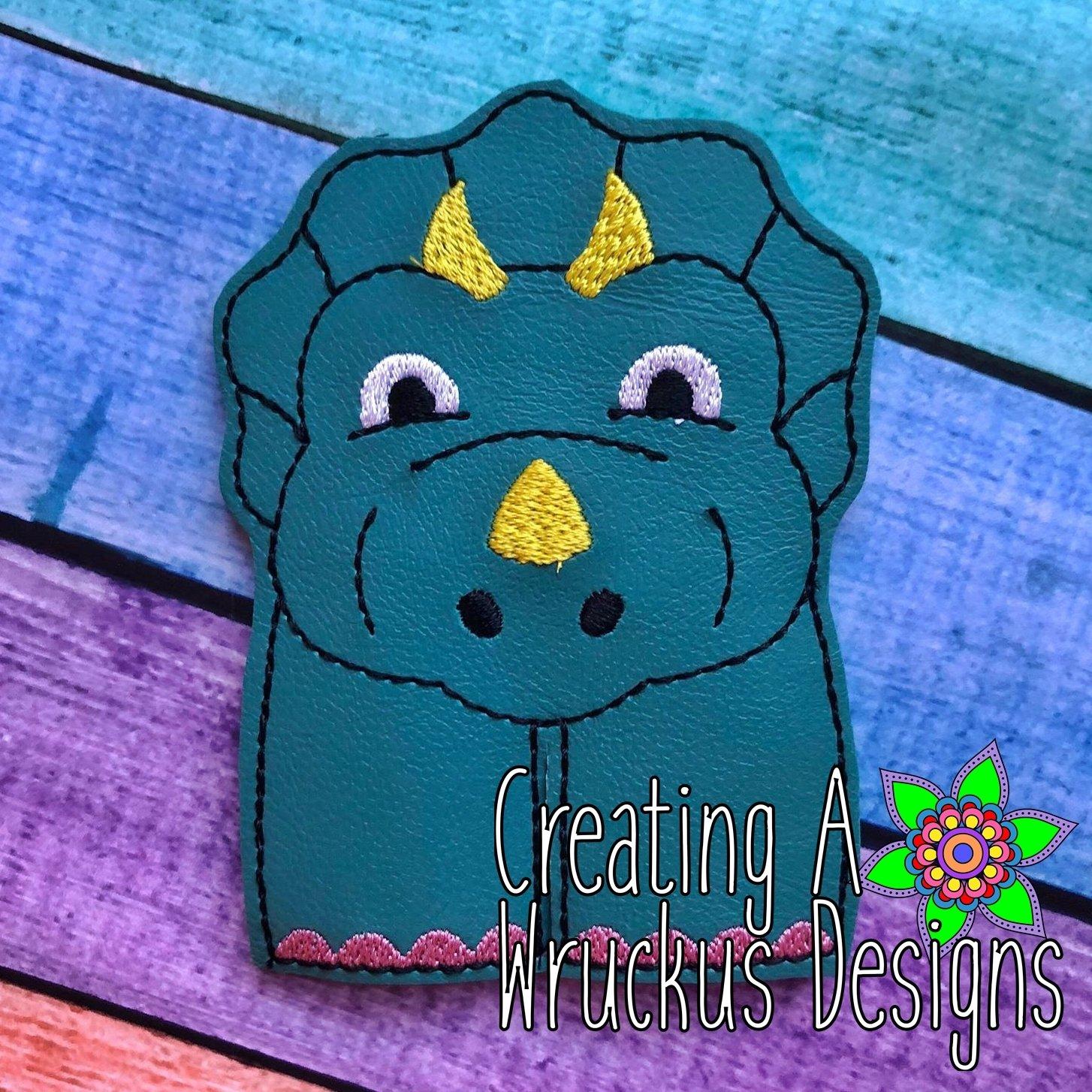 Stegosaurus Finger Friend