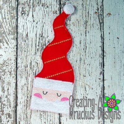 Santa Bookmark