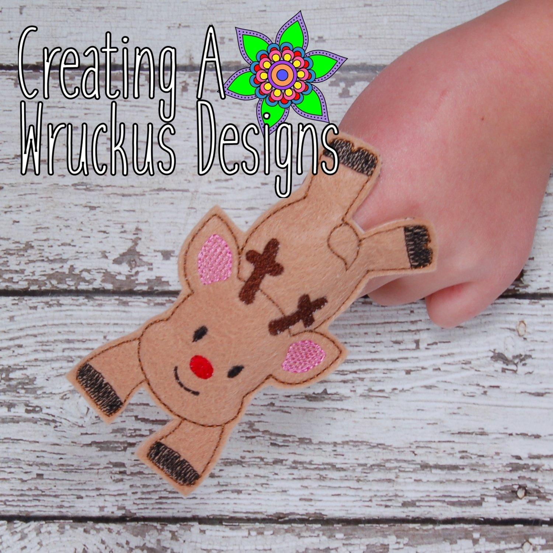 Rudolf Flying Finger Friend