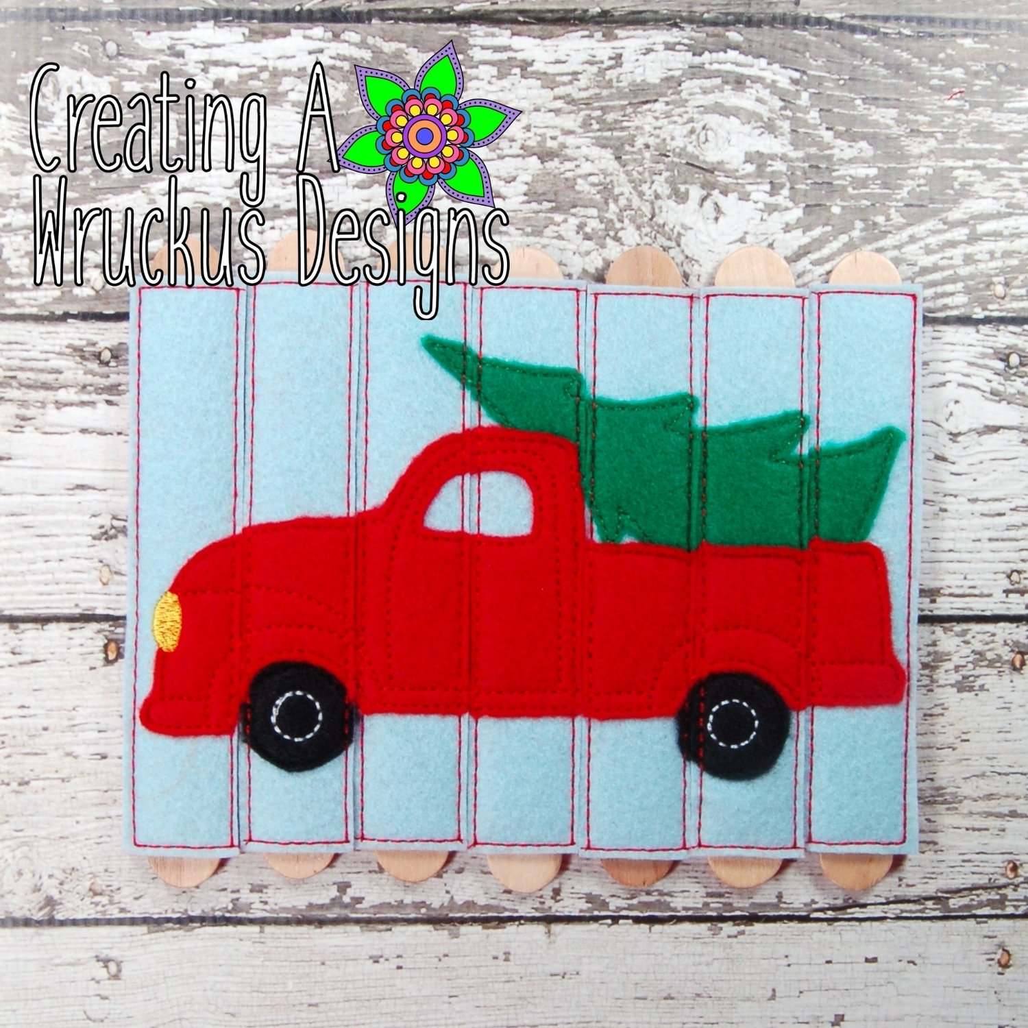 Truck and Tree Stick Puzzle