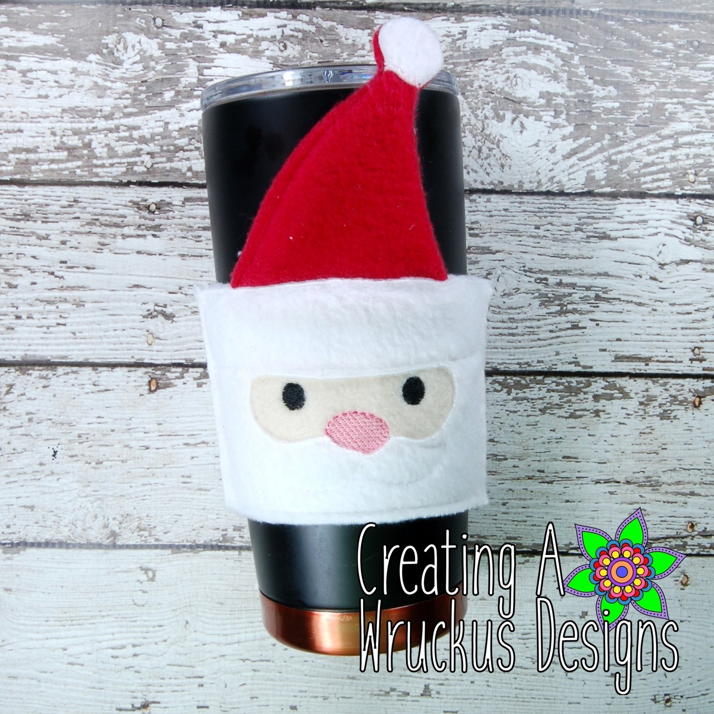 Santa Coffee Sleeve