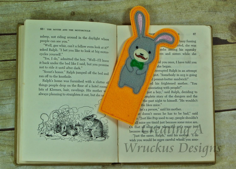 Bunny Bookmark