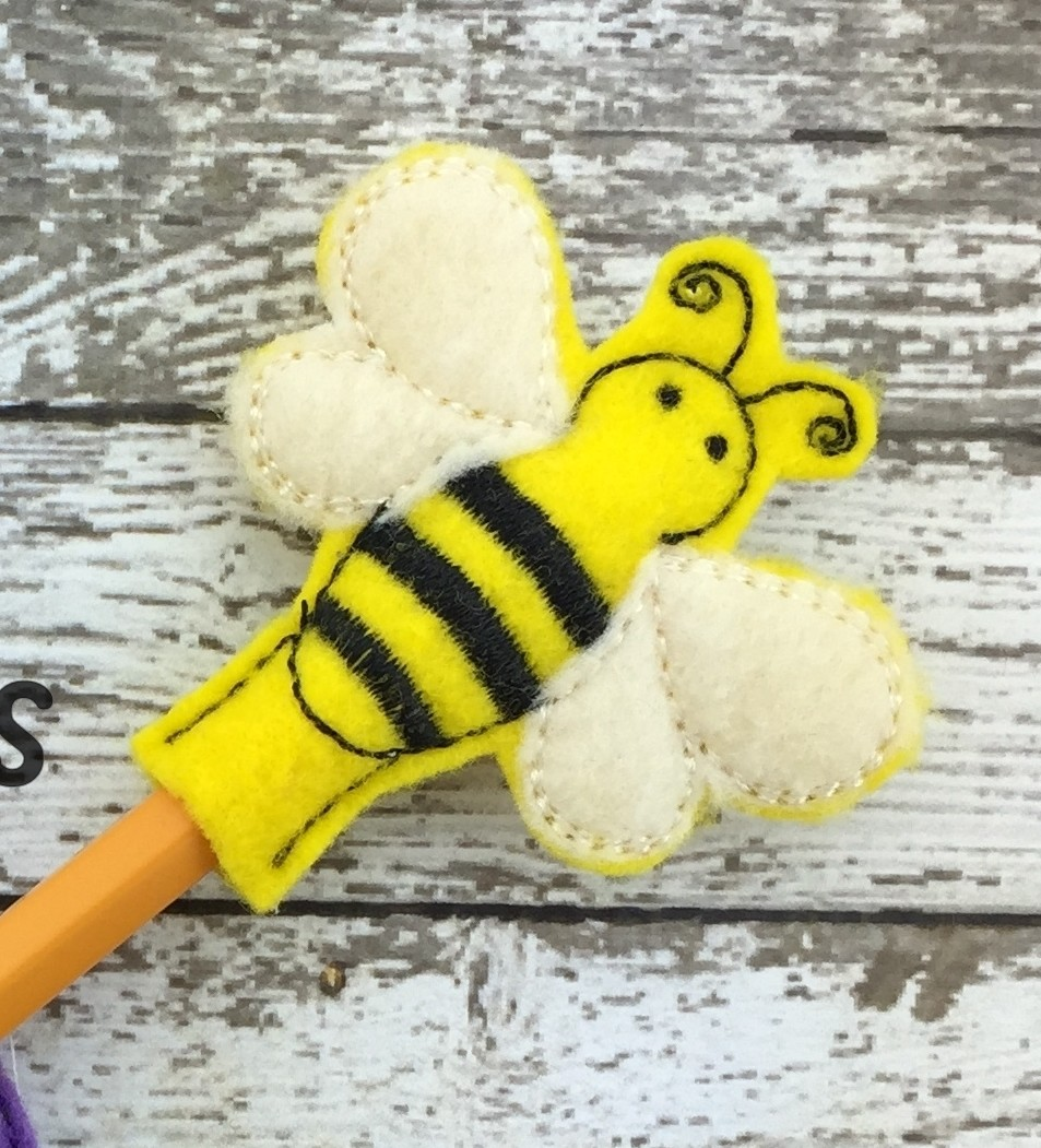 Bee Pencil Topper Version 2