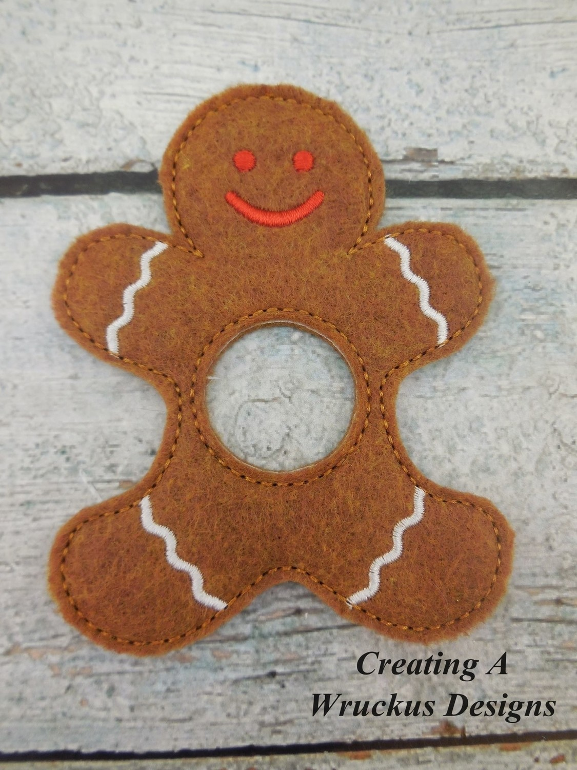 Gingerbread Napkin Ring