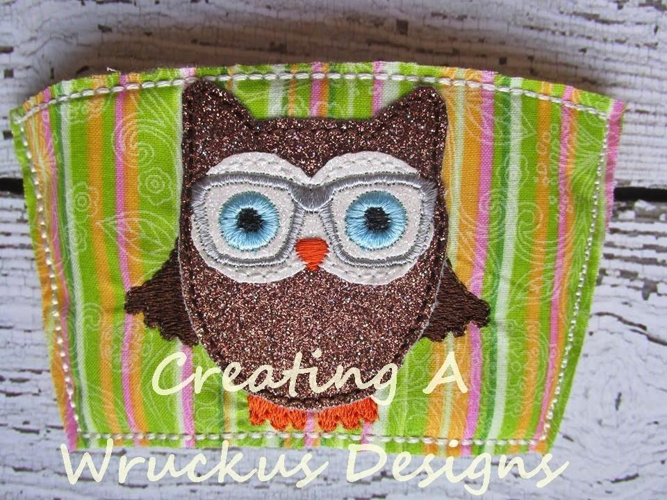 Owl Coffee Sleeve