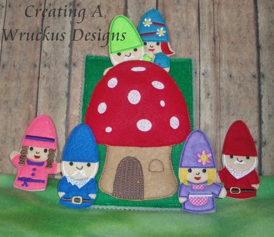 Gnomes and Mushroom House