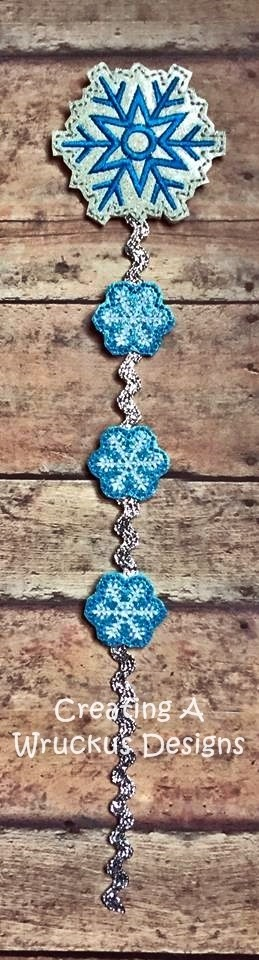Snowflake Braid-In Feltie