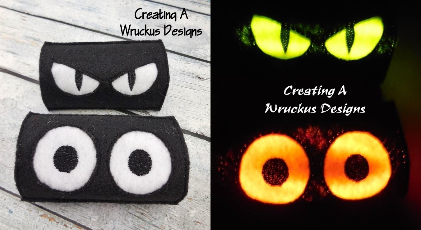 Spooky Eye Toilet Roll Set 2
