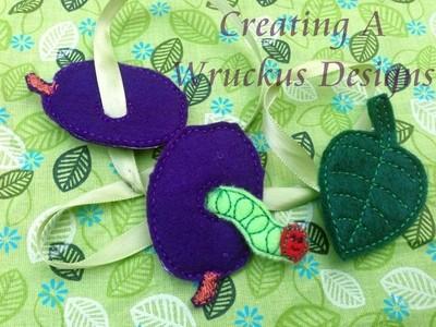 Caterpillar Lacing Set 1