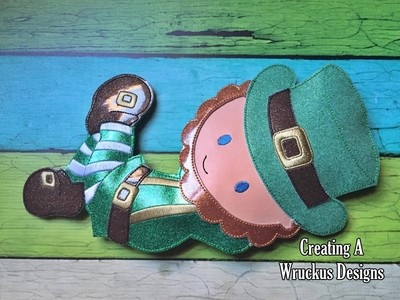 Leprechaun Super Sized Feltie