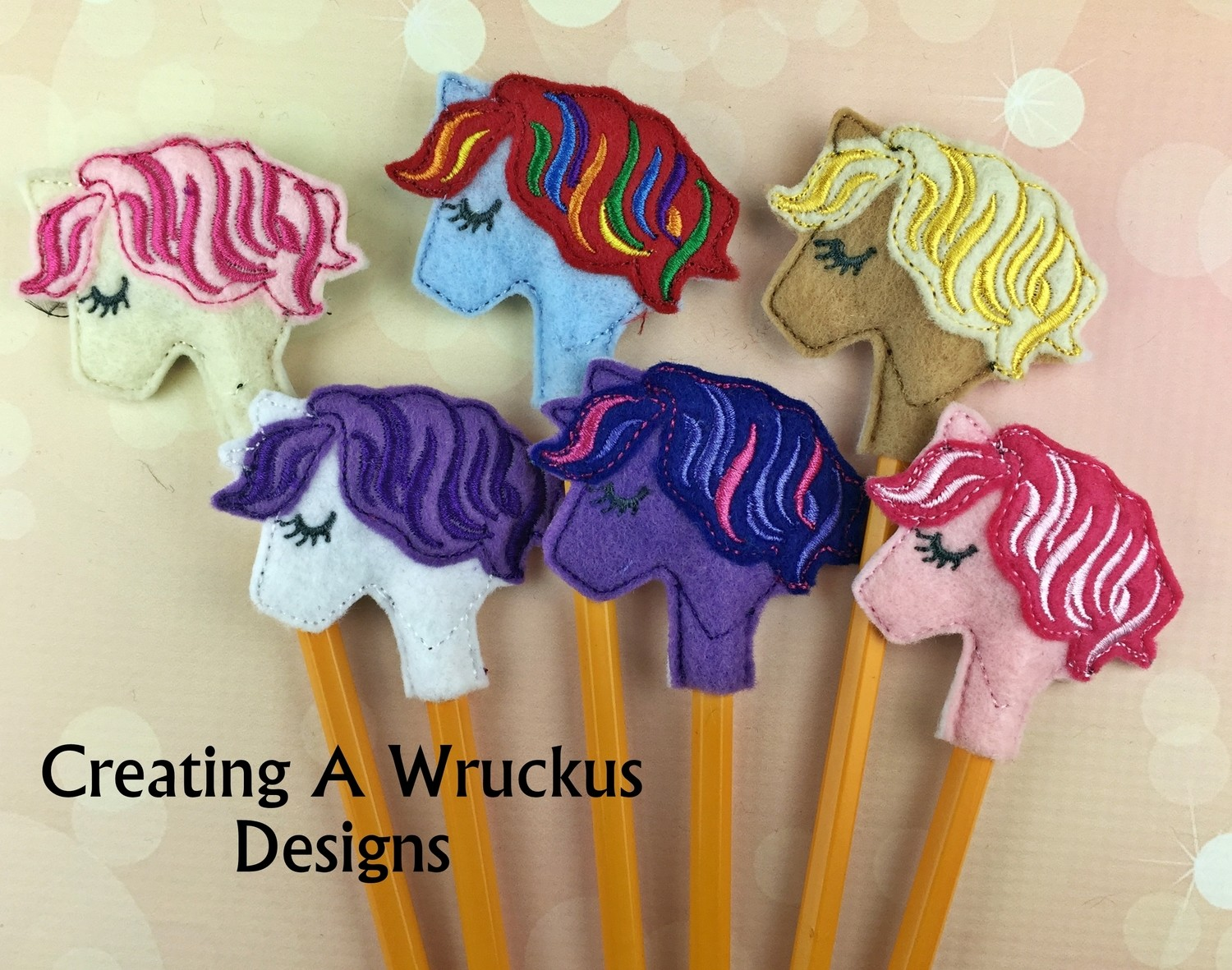 Pony Pencil Topper Pack