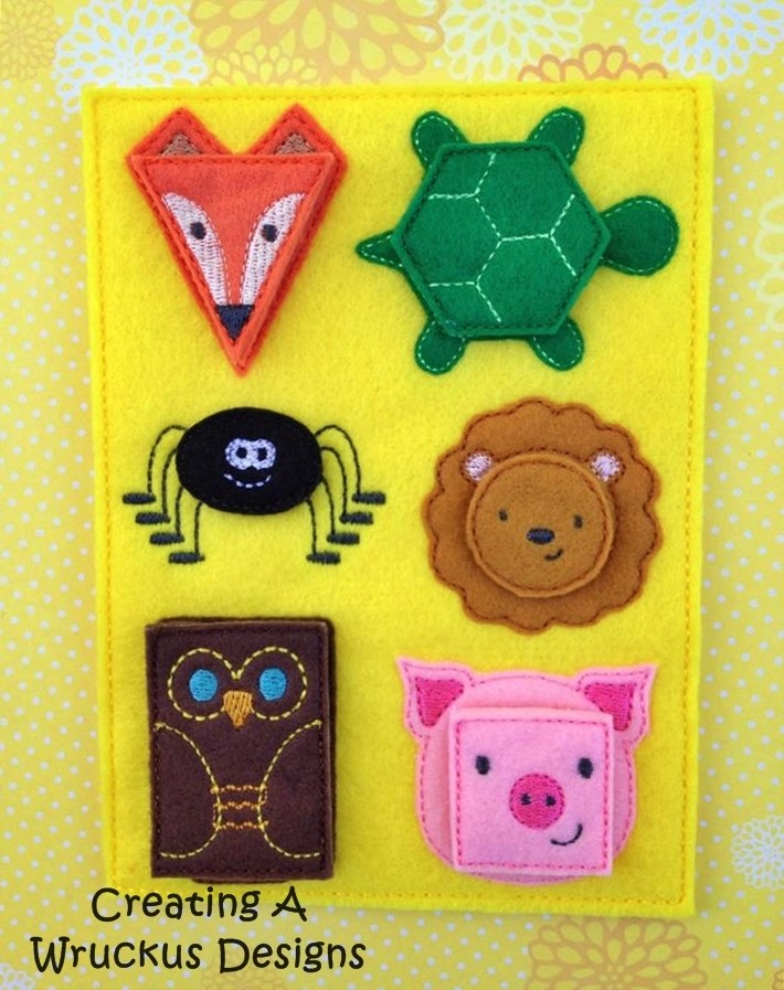 Shape Animals Matching Board