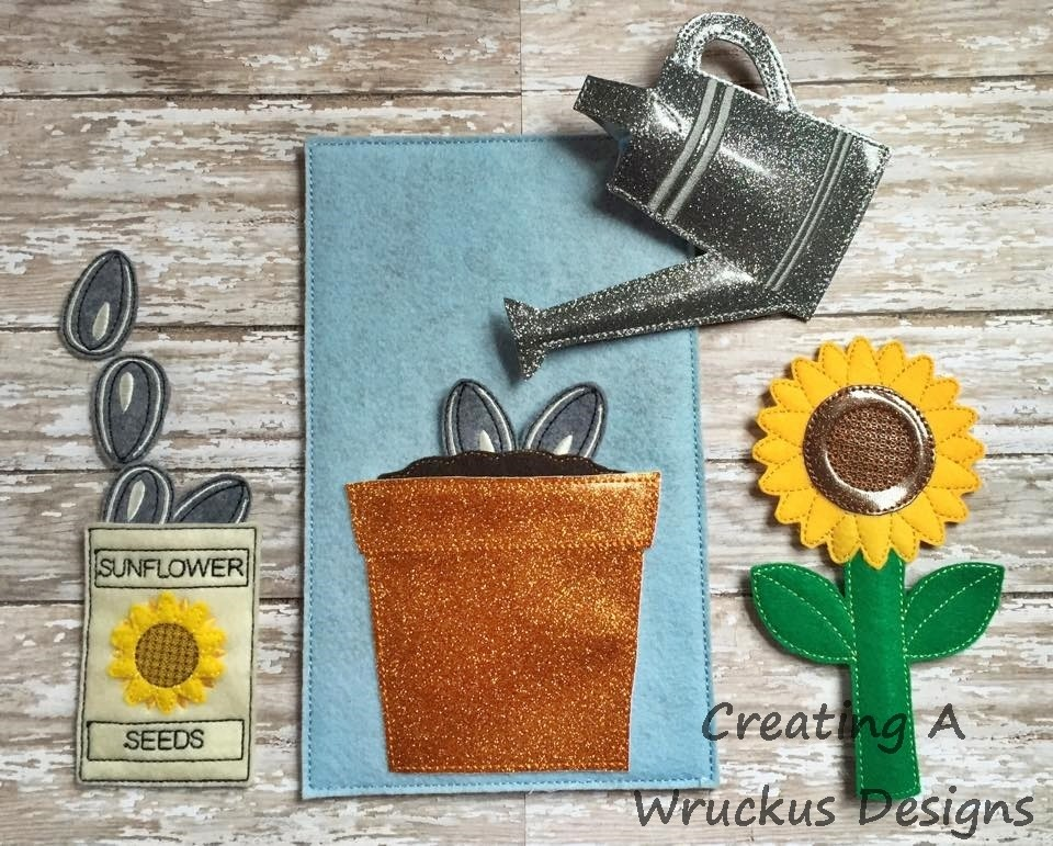 Popsicle Sunflower Set