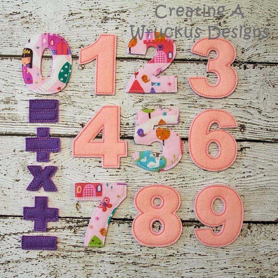 Number Math Set