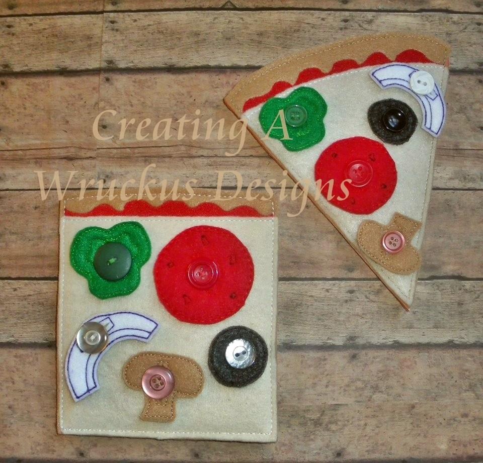 Pizza Button Board