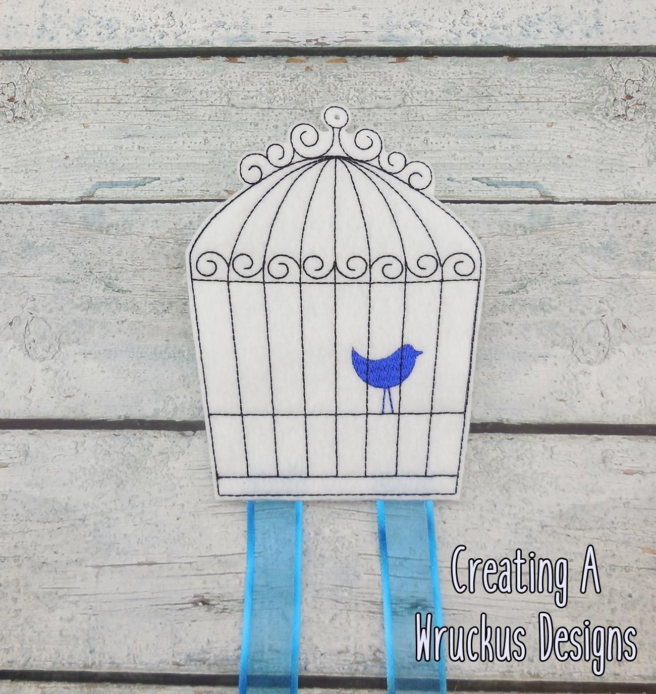 Bird Cage Bow Holder