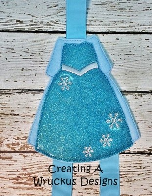 Snow Queen Bow Holder