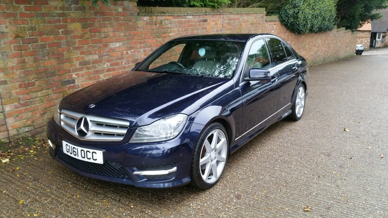 Mercedes c220 sport cdi blue efficiency