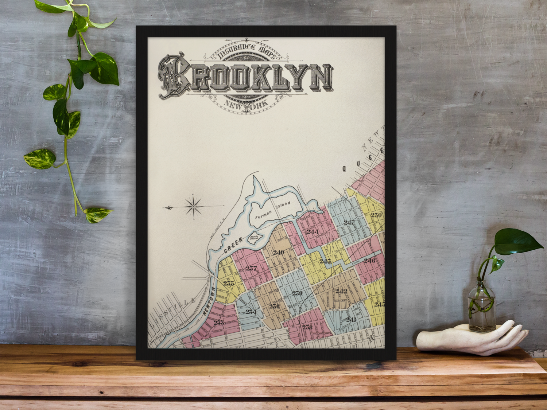 Sanborn Fire Insurance Map, Brooklyn New York