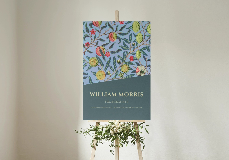 Pomegranate - William Morris (Kunstdruck)