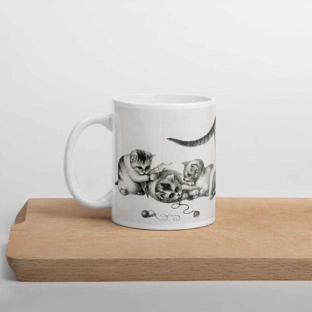 Cat by Gottfried Mind, Keramik Häferl