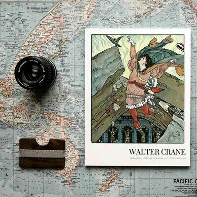 Petit-Soleil, Walter Crane Notebook Edition, Dot Grid Notebook