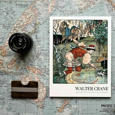 Feintise, Walter Crane Notebook Edition, Dot Grid Notebook