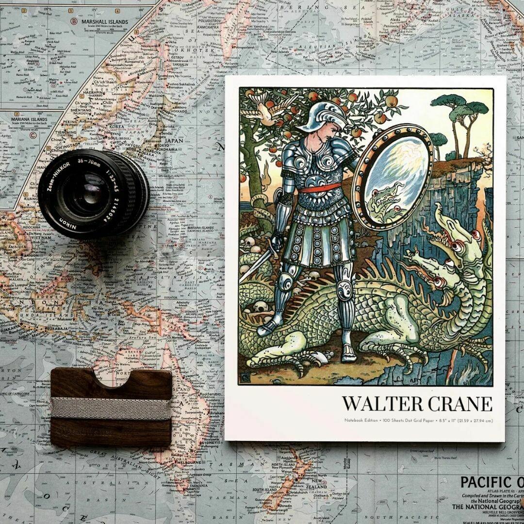 Prince Cheri, Walter Crane Notebook Edition, Dot Grid Notebook