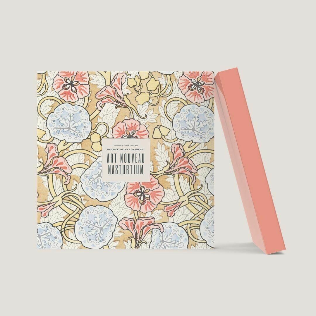 Art Nouveau Nasturtium: Maurice Pillard Verneuil Notebook