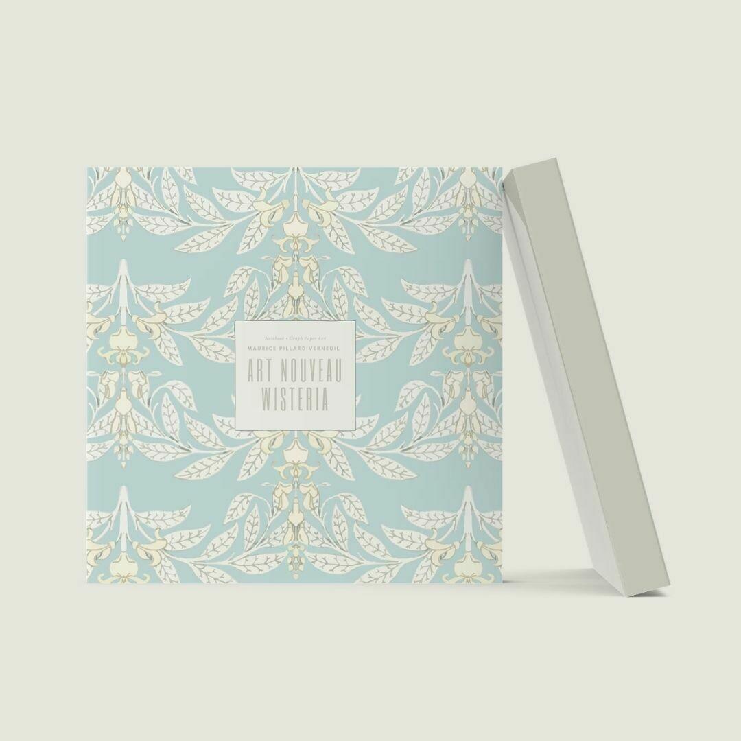Art Nouveau Wisteria: Maurice Pillard Verneuil Notebook