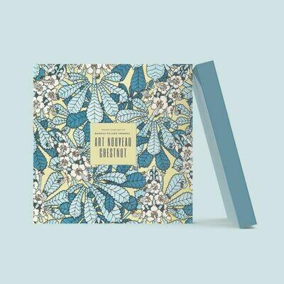 Art Nouveau Chestnut: Maurice Pillard Verneuil Notebook